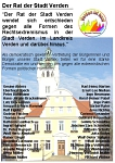 "Resolution ""Verden ist bunt"""