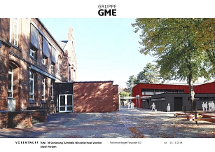 Sporthalle © Visualisierung / Gruppe GME