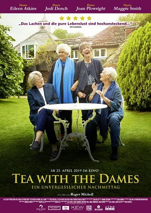 tea with the dames-plakat